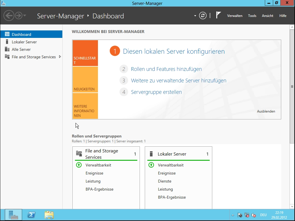 Windows Server 8 Beta – Erste Einblicke