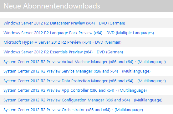 MSDN-Download