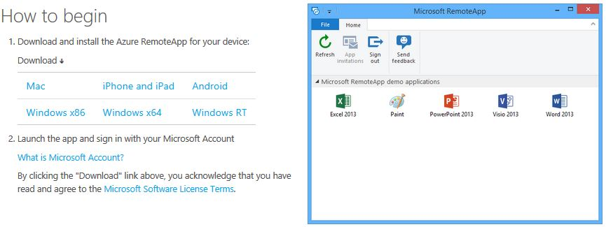 Azure RemoteApp Test