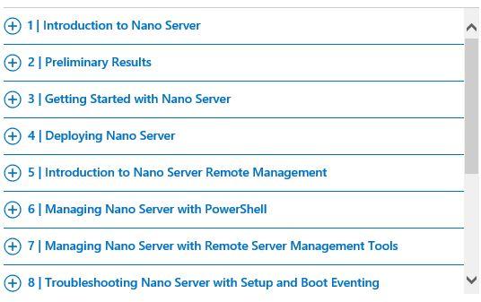 MVA Nano Server