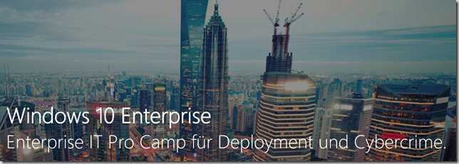 Microsoft IT-Camps Banner