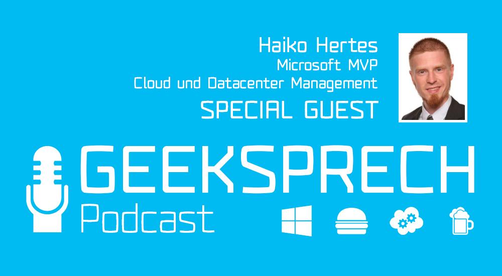 Logo GeekSprech Haiko Hertes PowerShell