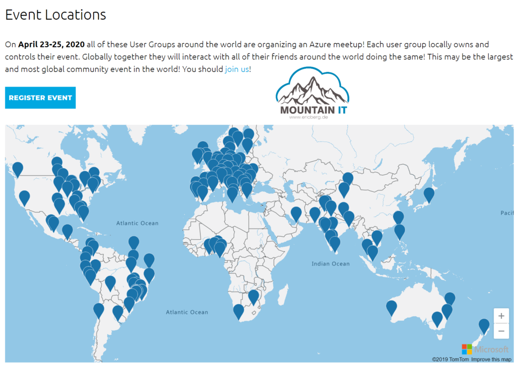 Global Azure Locations