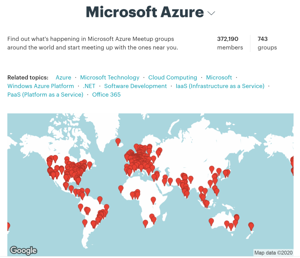 Azure Meetups Globally