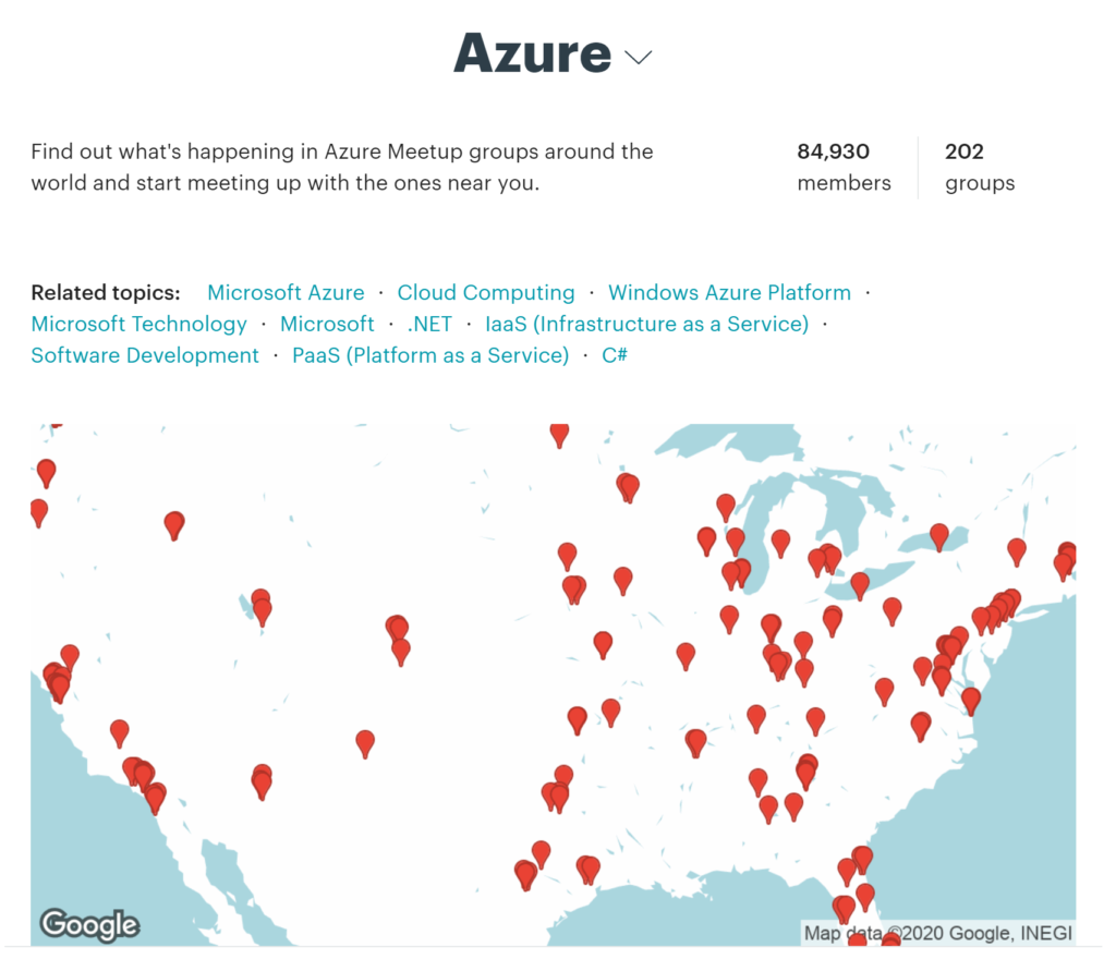 Azure Meetups US