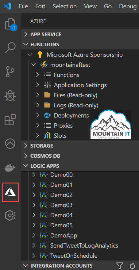 Azure Tools extension